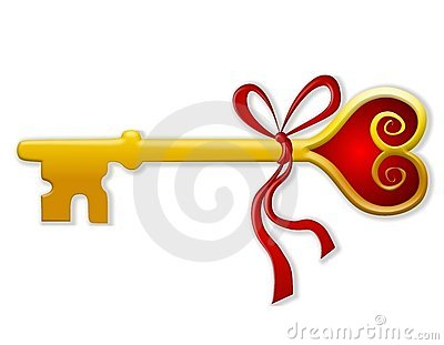 Key To My Heart Valentine Clip Art 2