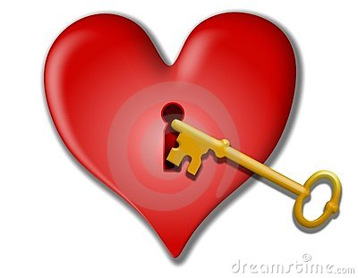 Key To My Heart Valentine Clip Art