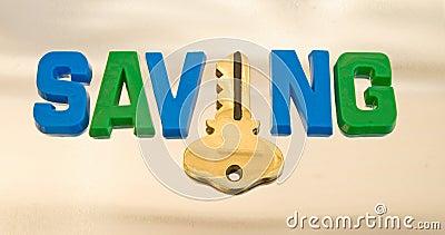 The key to saving.