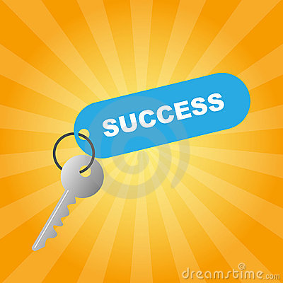 Free Key To Success Royalty Free Stock Photos - 13955668
