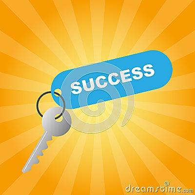 Free Key To Success Royalty Free Stock Photos - 13955668