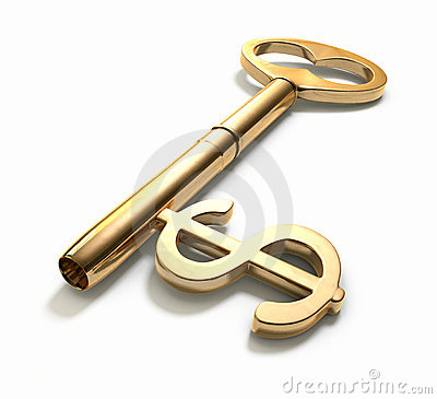 Free Key To Success Stock Image - 4243471