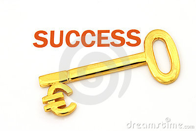 Key to success - euro