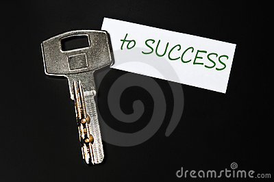 Key to success message