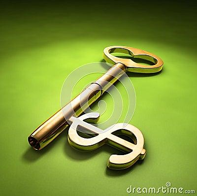 Free Key To Wealth Stock Photos - 4243423