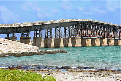 Key West Bahia Honda island bridge ( channel)