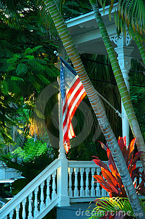 Free Key West Porch Royalty Free Stock Image - 1575866