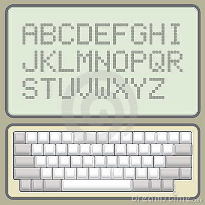 Keyboard and alphabet
