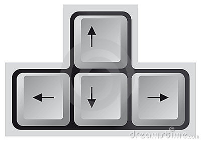 Arrow Keyboard Keys Stock Photos, Images, & Pictures - 230 Images