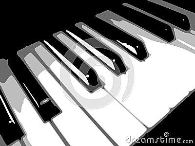 Keyboard bw