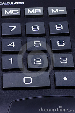 Keyboard of a calculator