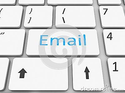 Keyboard email  key