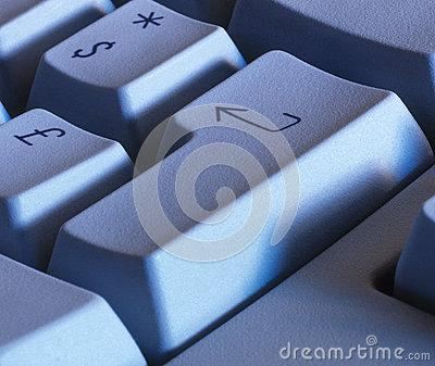 Keyboard enter key