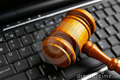 Keyboard gavel