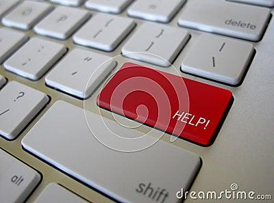 Keyboard Help Key Button