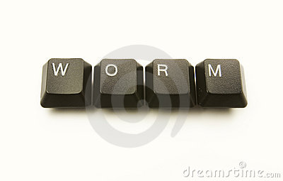 Keyboard keys WORM