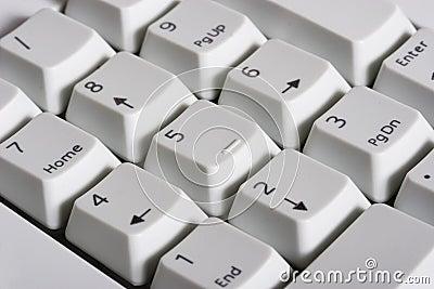 Keyboard - numeric pad