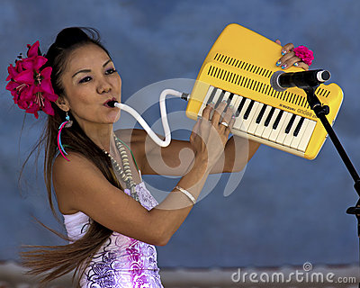 Keyboard Plus Lungs Editorial Stock Photo