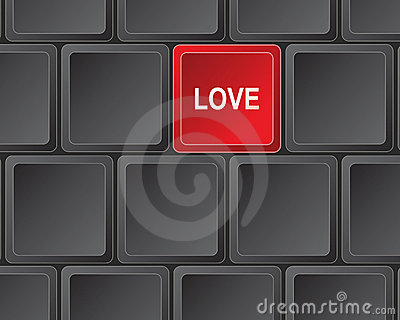 Keyboard press for love