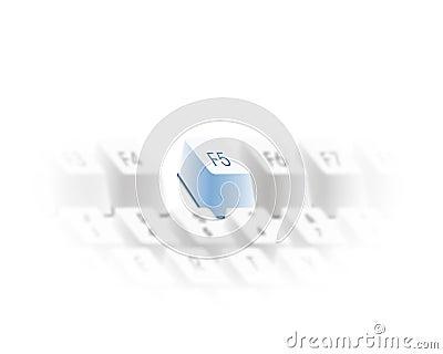 Keyboard refresh key