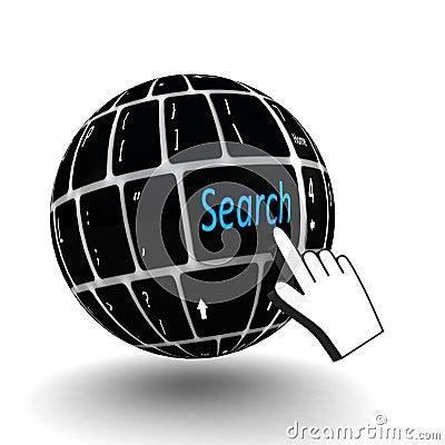 Keyboard search  key