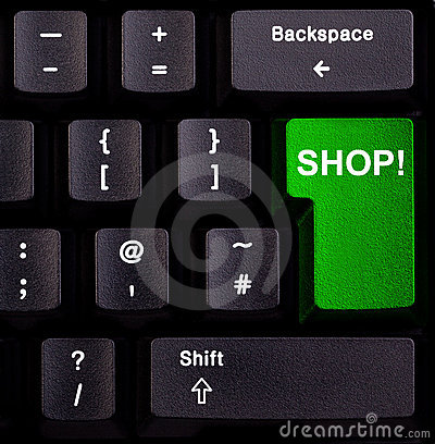 Free Keyboard Shop Stock Image - 18057561