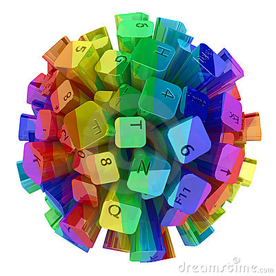 Keyboard Sphere Color