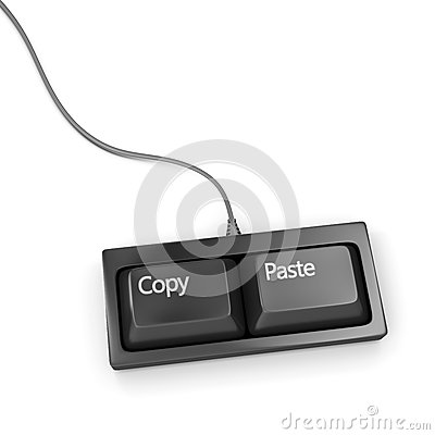 Copy paste keyboard