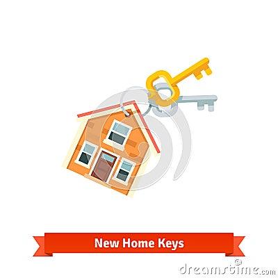 Keychain de chambre symbolisant l 39 achat d 39 une nouvelle for Achat dune maison
