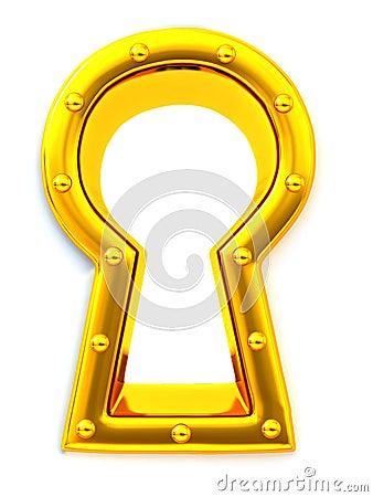 Keyhole. 3d
