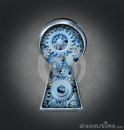 Keyhole For Business Success