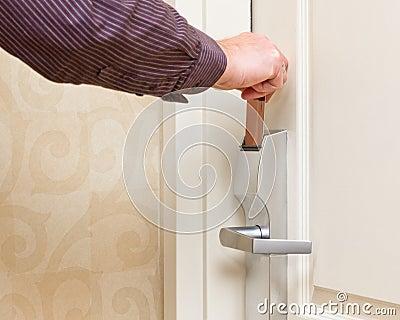 Keyless Door Entry