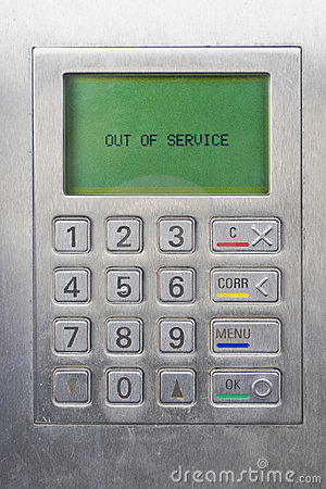 Keypad of ATM