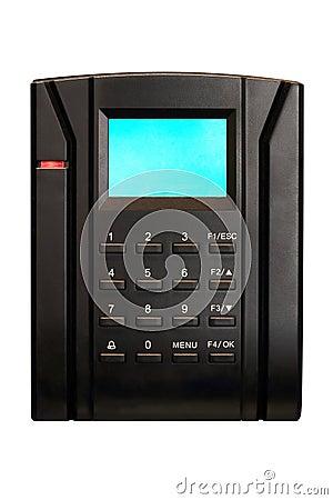 Keypad digital security system