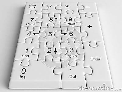 Keypad puzzle