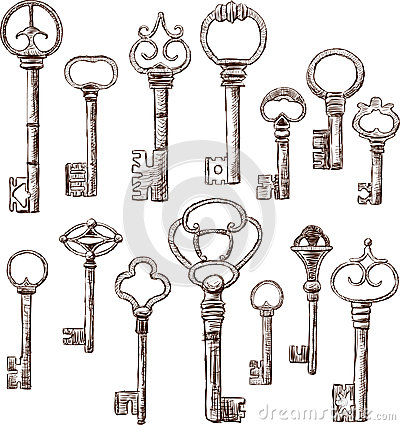 Free Keys Royalty Free Stock Photo - 26345045