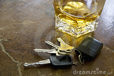 Keys and Alcohol Drink