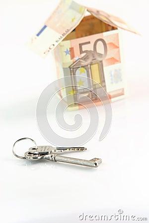 Free Keys And Euros Stock Photo - 4085440