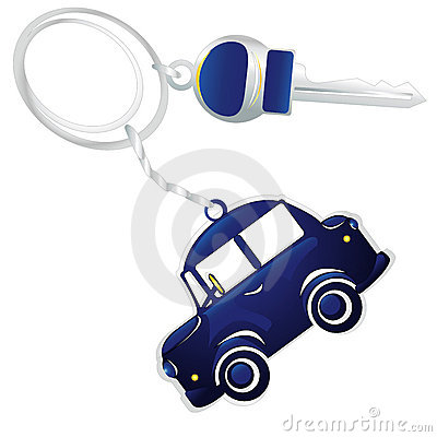 Keys from the car