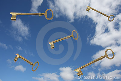 Keys Falling From The Blue Sky