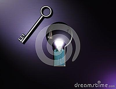 Keys and idea man