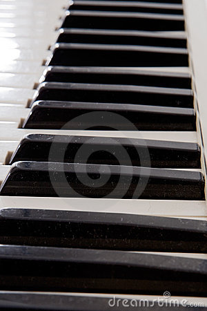 Keys Of A Piano Stock Photos - Image: 6519443