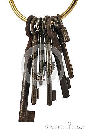 Keys on ring