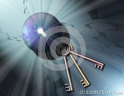 Keys to Binary Globe 3