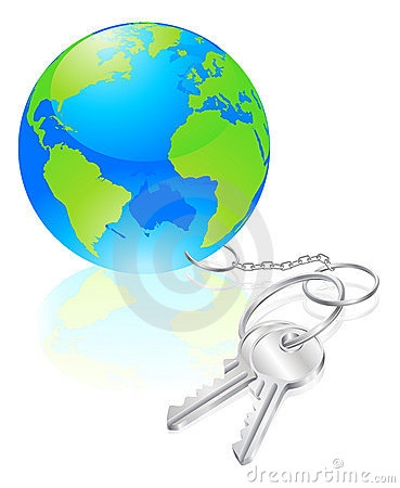 Keys to the world concept