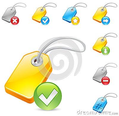 Keyword tag icon
