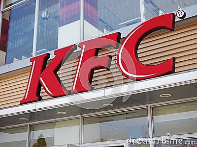 KFC Logo Editorial Image