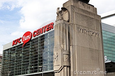 KFC Yum Center Editorial Image