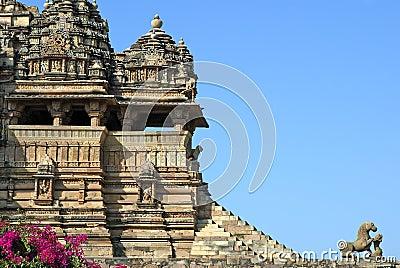 Khajuraho monument