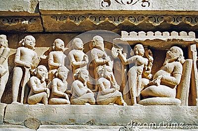 Khajuraho Statues, India